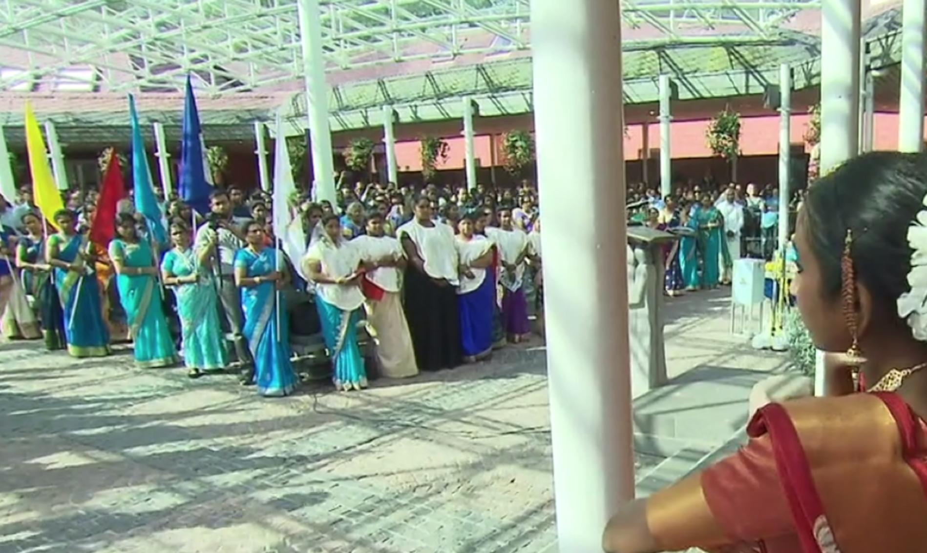 Kevelaer am Niederrhein: Die Wallfahrt der Tamilen 2018